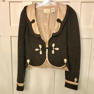 Guinevere Anthropologie Wool/Silk Jacket
